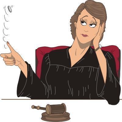 Анимация картинки юрист